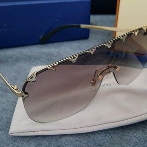 Louis Vuitton Purple Rain Sunglasses Tan